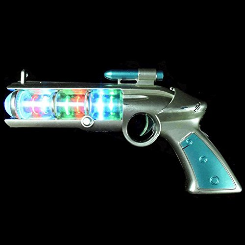 (blinkee Light Up Spinning Barrel Space Gun)