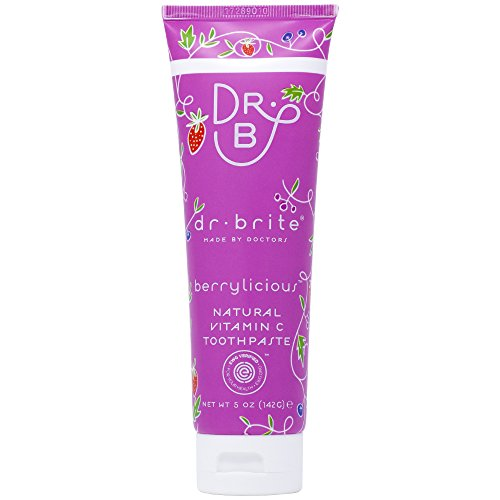 Dr. Brite Natural Whitening Toothpaste, Strawberry Sky, 4.2 Ounce