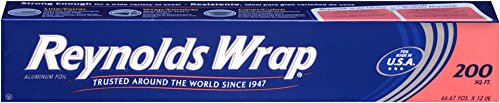 Heavy Duty Aluminum Foil Rolls - Reynolds Wrap Aluminum Foil (200 Square Foot Roll)