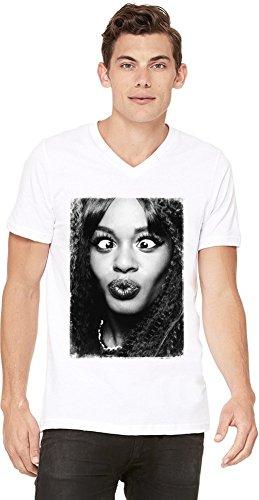 Banks con Hip blanca en camiseta para Azealia Rapper v Hop hombre cuello dS0Rcpwq