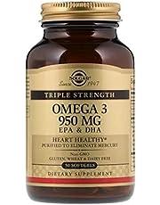 SOLGAR OMEGA 3 950 MG EPA + DHA 50 SOFTJEL