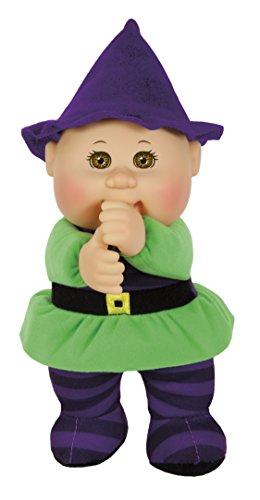 Cabbage Patch Cuties Samantha Witch 9 Inch Soft Body Baby Doll - Harvest Helper Collection