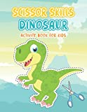 Dinosaur Scissor Skills Activity Book For