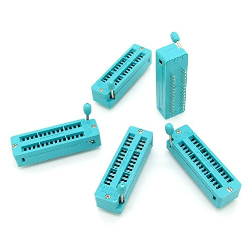 5pcs High Quality 28-pin 28 Pins Test Universal ZIF IC Socket Narrow