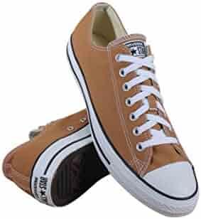 53851ffcae5c3d Converse Unisex Chuck Taylor All Star Ox Low Top Classic Raw Sugar Sneakers  - 10.5 B