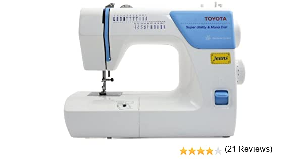 Toyota JSA 21 - Máquina de Coser con Accesorios: Amazon.es: Hogar