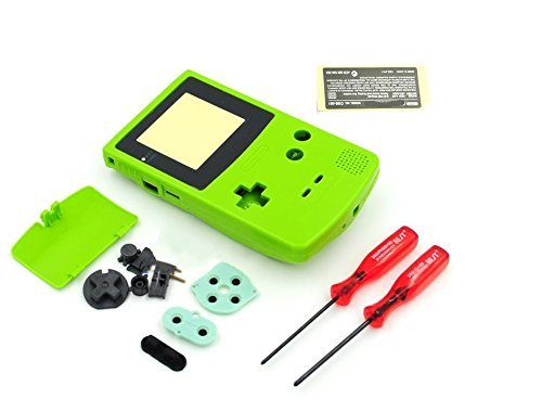 Gametown® Full Housing Shell Pack with Screwdriver for Nintendo Game boy Color GBC Repair Part-Apple -