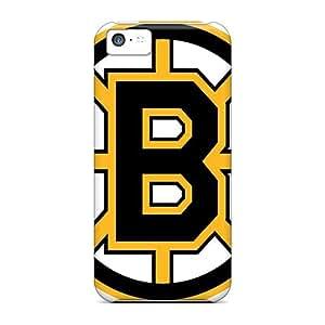 Apple Iphone 5c JeI8720cndX Custom Stylish Boston Bruins Series Scratch Resistant Hard Phone Case -JoannaVennettilli