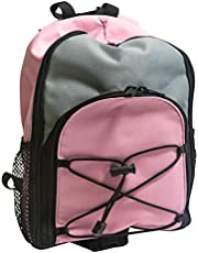 Kangaroo Joey Bag For Feeding Pumps - Kangaroo Backpack For Enteral Feeding Pump - 500mL or 1000mL, Pink