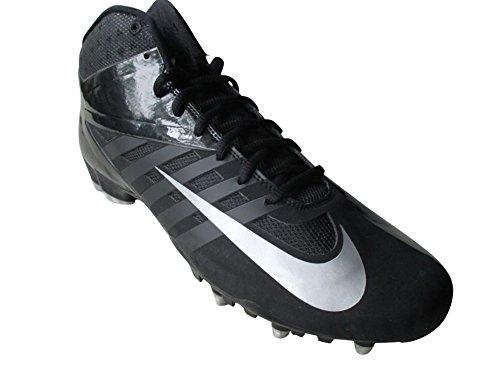 Nike Mens Vapor Pro 3/4 Td Tacchetti Da Calcio Nero / Argento Metallizzato-nero