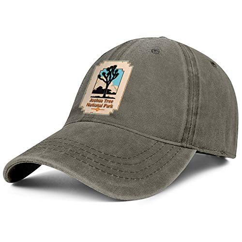 Unisex Men Adjustable Joshua Tree National Park Baseball Caps Cool Sunshade Hat