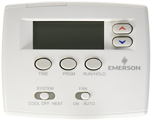 (Emerson 1F80-0261 Single Stage 5/1/1 Programmable Digital Thermostat)