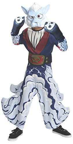 Rubies Skylanders Swap Force Night Shift Costume, Child Large (Skylander Costumes For Boys)