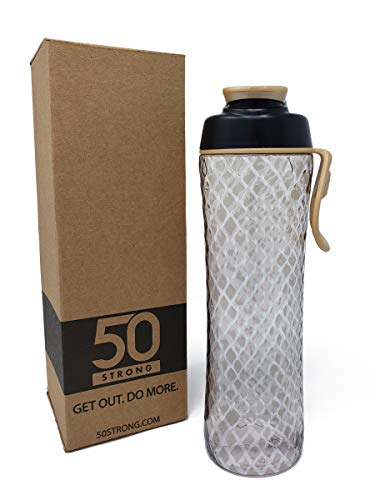 50 Strong BPA Free Cute Reusable Plastic Water Bottle, used for sale  Delivered anywhere in USA