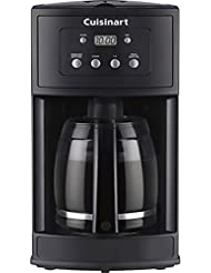 Cuisinart DCC-500 12-Cup Programmable Black Coffeemaker (Certified Refurbished)