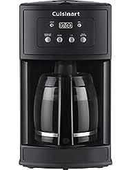 Cuisinart DCC-500 12-Cup Programmable Black Coffeemaker (Certified Refurbished)
