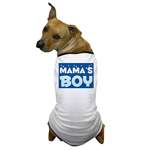 CafePress - Mama's boy Dog T-Shirt - Dog T-Shirt, Pet Clothing, Funny Dog Costume -