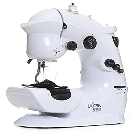 Amazon 40V40V Mini Portable Bench Top Electric Sewing Adorable Electric Sewing Machines