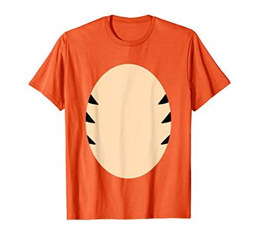 Orange Tiger Costume Kids DIY Halloween cartoon drawing fur  T-Shirt