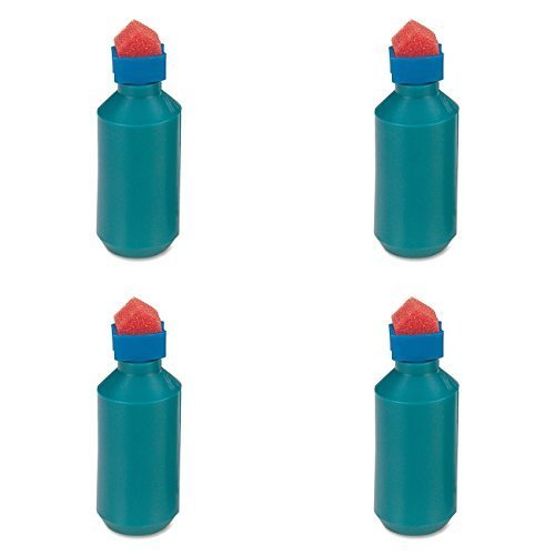 Sparco Envelope Moistener, Bottle Type, Sponge Tipped (SPR01483), 4 Packs ()
