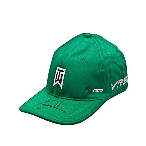 TIGER WOODS Signed Nike Green Victory Hat LE of 25 ()