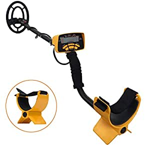 Tiangtech® All-Type Metal Detector Gold Digger with LCD and Multiple Search Modes (Treasure Hunter Model 2015-MD602) [5-8 Day Express Shipping (Fed-Ex or DHL)]