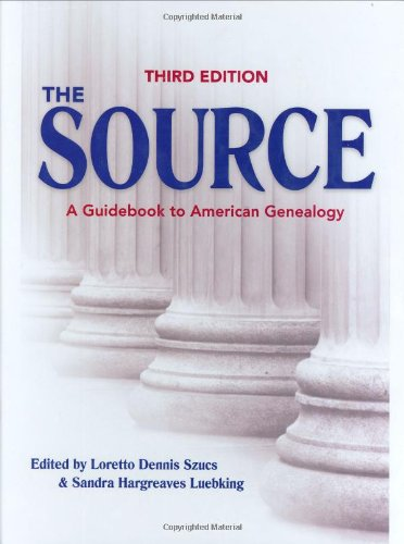 Services Book Source (The Source: A Guidebook Of American Genealogy (Third Edition))