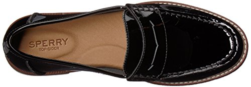 Sperry Top-sider Kvinnor Hamn Öre Loafer Black Patent