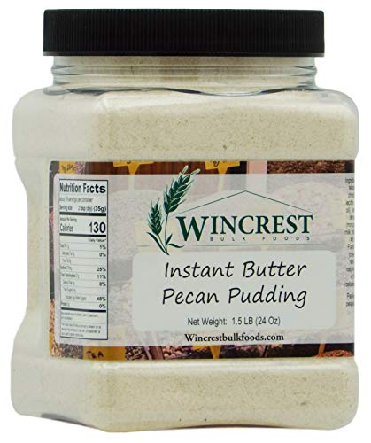 Butter Pecan Instant Pudding Mix - 1.5 (24 Oz ) Tub