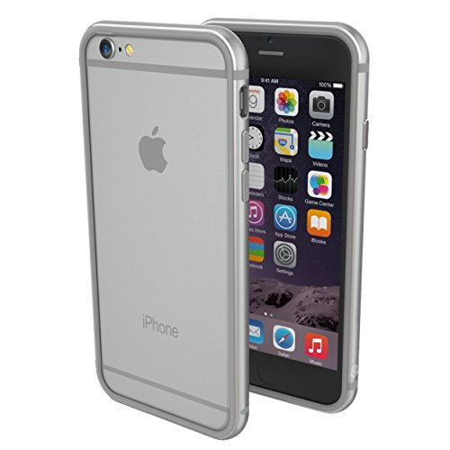 ThanoTech iPhone 6/6s Case K11 Bumper - 6 Foot Drop Test - Lightweight Aluminum TPU - Matches Your Phone Seamlessly - Slim, Durable, and Shockproof Protection - Space Gray/Space Gray