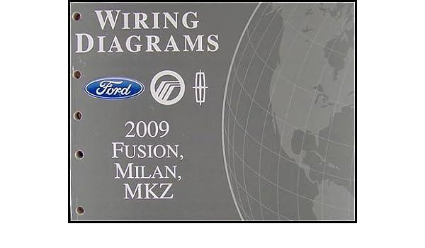 2009 fusion milan mkz wiring diagram manual original ford motor rh amazon com