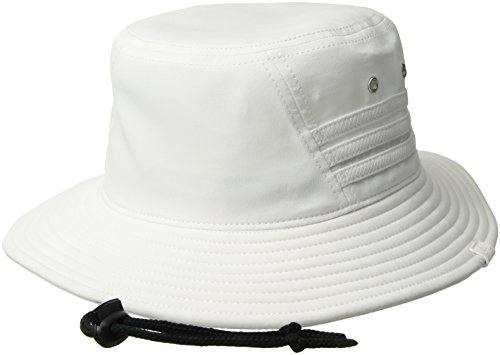 (adidas Men's Victory II Bucket Hat, White/Black, One Size )