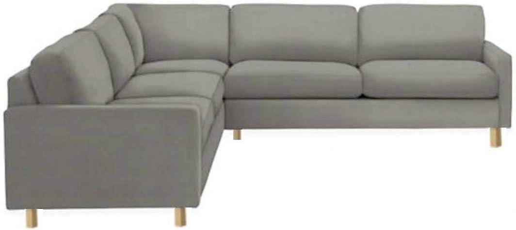 Amazon.com: Funda de repuesto para sofá esquinero de algodón ...