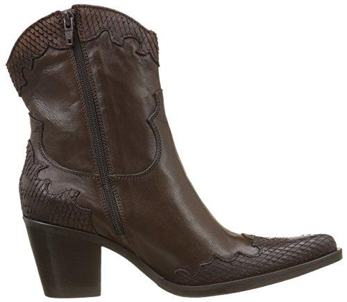 Mogano 8356 Marron Mamba Cowboy Boots Tdm Enea Piu Donna Women's California qSEwg8ET