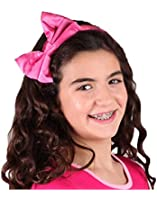 Ooh La La Couture Girls Candy Pink Bow Headband, Candy Pink