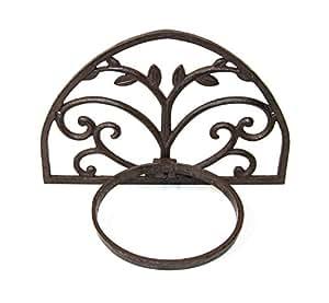 Marvells afl5543Amplia Maceta Pared de arco, color marrón