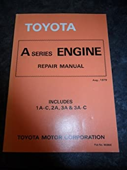 toyota k series engine repair manual includes 2k 3k b 3k c 3k h rh amazon com KP61 Toyota Engine Swap Toyota 4K Engine