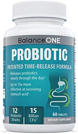 Balance ONE Probiotic Time Release Guaranteed