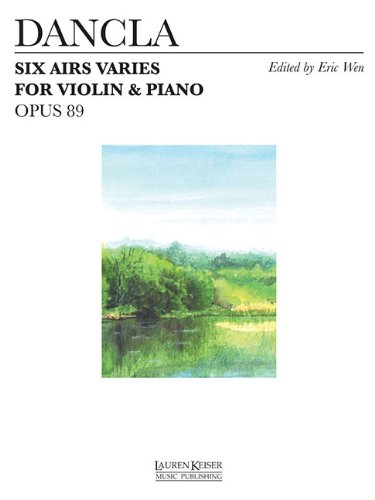 Read Online SIX AIRS VARIES FOR VIOLIN AND PIANO OP. 89 ebook