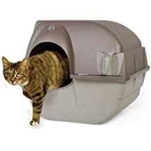 Self Cleaning Cat Litter Box Roll Kitty Pewter Scoop Automatic Toilet Pet NEW