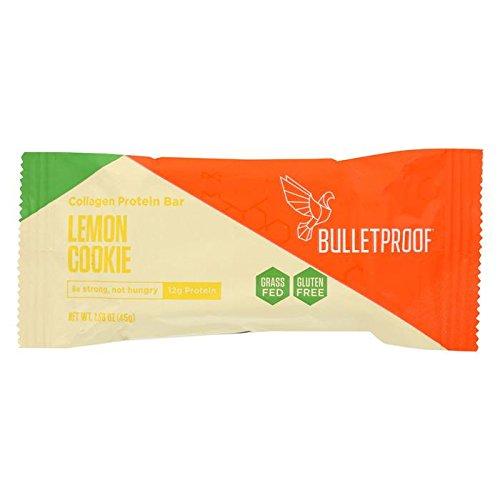 Bulletproof Bar - Lemon Cookie - Collagen - Case Of 12 - 1.58 Oz