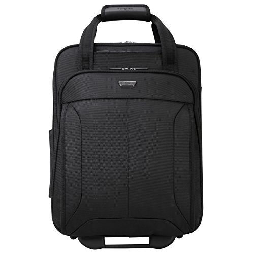 Roller Overhead Bag (Targus Corporate Traveler Vertical Rolling Case with SafePort Air Cushion System for 15.6-Inch Laptops, Black (CUCT03R))