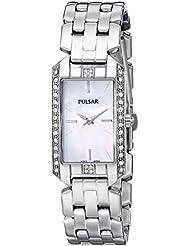 Pulsar Womens PRW005 Silver-Tone Watch