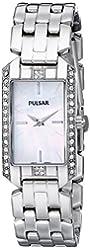 Pulsar Women's PRW005 Silver-Tone Watch