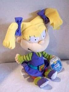 Amazon Com Disney Rugrats Angelica Pickles Bean Bag Plush