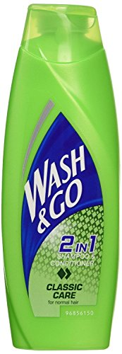 6 x Wash & Go Universal 2in1 Shampoo & Conditioner 200ml by Wash & Go by Wash & Go