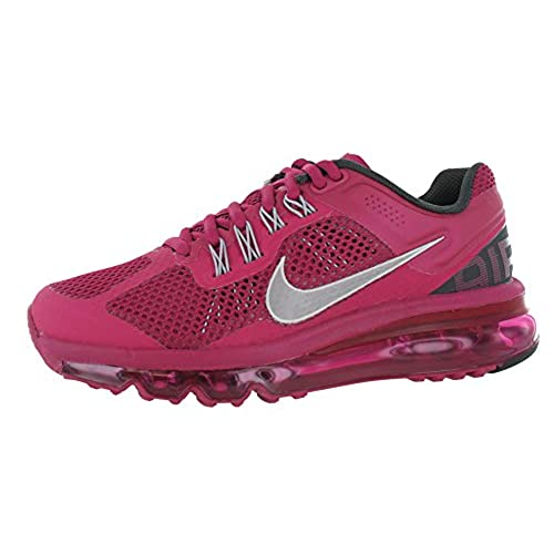 5a831f8ef98717 Women's NIke Air Max 2013 Running Shoe Fuchsia 85%OFF ...