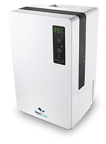 Desumidificador Pure Ion Pro, Relaxmedic, Branco