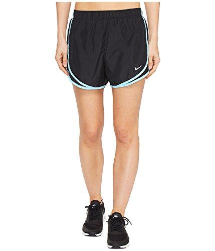 Nike Femmes Tempo Courte Noir Bleu Clair