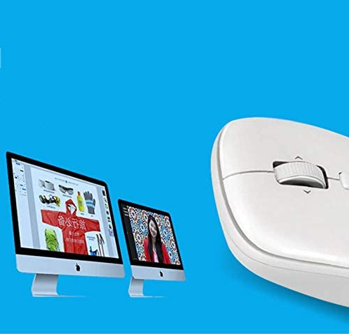 LDH 2.4G Portable Mobile Optical Mouse Wireless Bluetooth Mouse 4.0 Notebook Computer